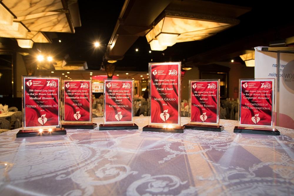 Awards Table Photo