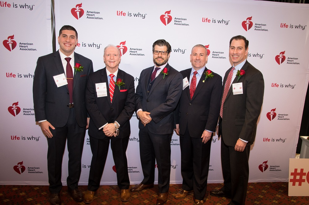 Men of Go Red Committee Photo