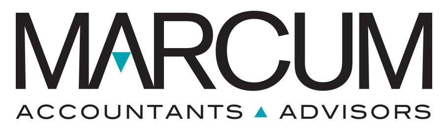 Sponsor Logo Marcum Accountants Advisors