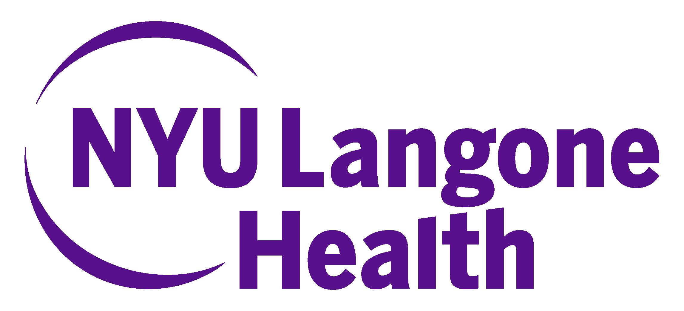 NYU Langone Sponsor Logo